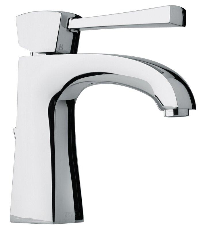 Jewel Faucets J11 Bath Series Single hole Bathroom Faucet with Drain ...