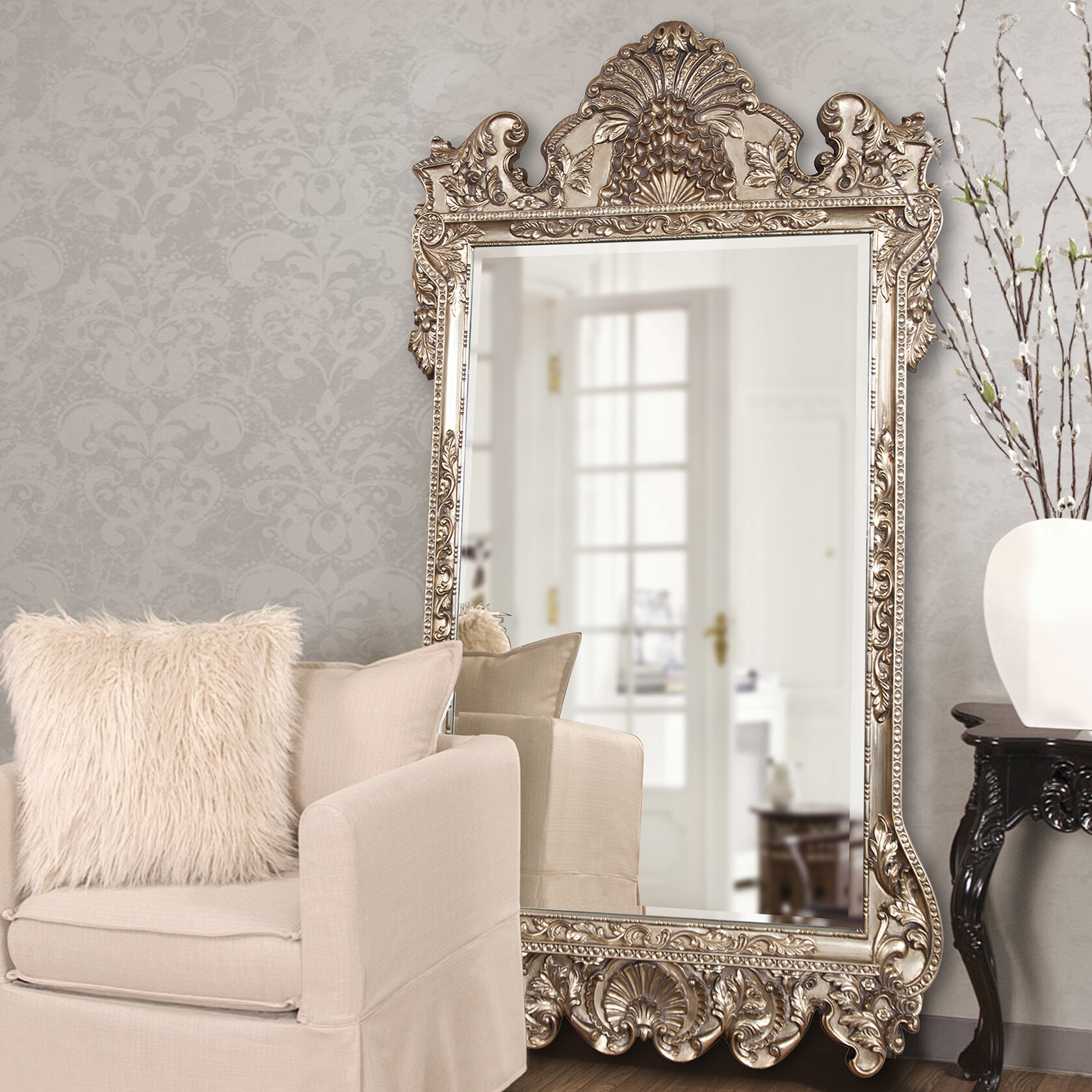 Rosdorf Park Traditional Beveled Full Length Mirror Reviews Wayfair