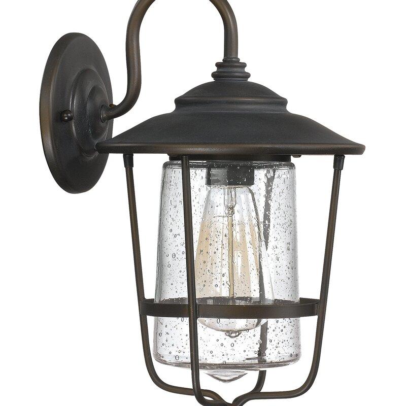 Remington 1 Bulb Outdoor Wall Lantern Reviews Birch Lane