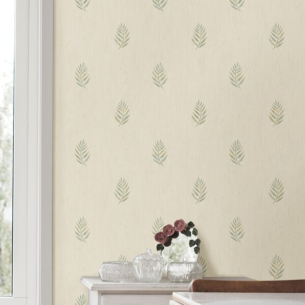 Barkhampstead Leaf 33 L X 20 5 W Floral And Botanical Wallpaper Roll Joss Main