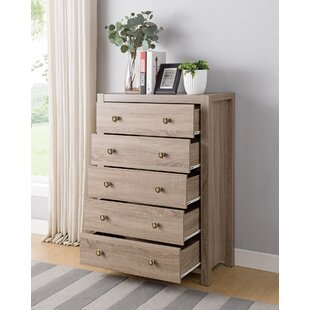 Lake City Utility 5 Drawer Dresser