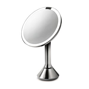 Sensor Activated Lighted Makeup/Shaving Mirror