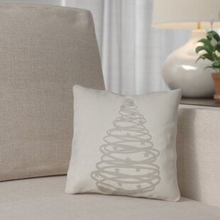 Winter Tree Outdoor Throw Pillow