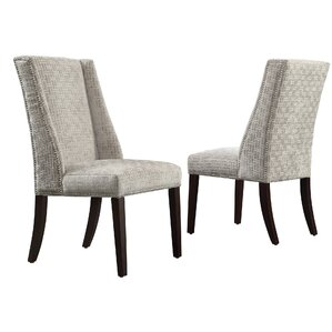 Anke Wingback Side Chair (Set of 2) by Willa Arlo Interiors