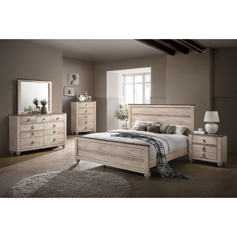 Manzano Panel 5 Piece Bedroom Set