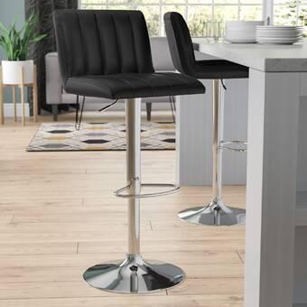 Latitude Run Byxbee Solid Wood 23 5 Counter Stool Reviews Wayfair