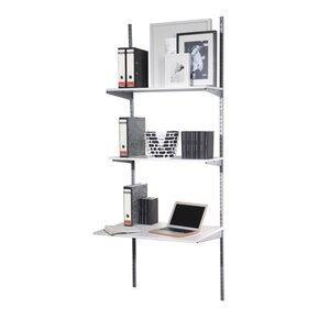 Schreibtisch Staxx mit Bücherregal von Phoenix