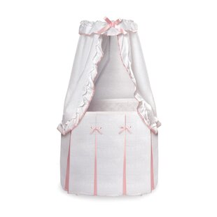 Shop For Christion Baby Bassinet with Canopy By Harriet Bee