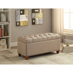 Kenyon Functionally Stylish Upholstered Storage Bench