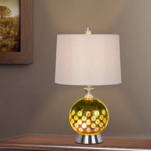 Staudt Metal and Glass 22.5 Table Lamp