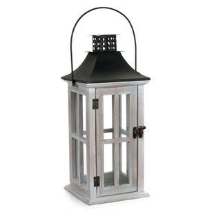 Compare Wood Lantern By Highland Dunes