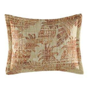 Batik Pineapple Cotton Lumbar Pillow