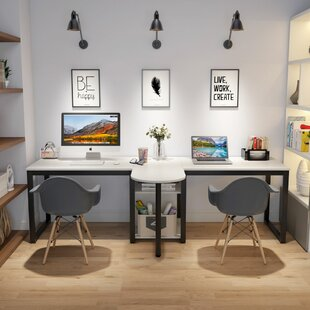 Double Two Person Desks You Ll Love In 2021 Wayfair