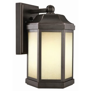 Bennett 1-Light Outdoor Wall Lantern by Design House