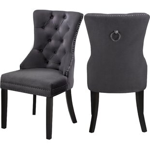 Stonefort Upholstered Dining Chair (Set of 2) by Darby Home Co