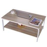 Cumbo Frame Coffee Table with Storage by Latitude Run®