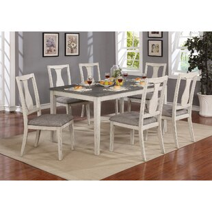 Surrey 7 Piece Solid Wood Dining Set