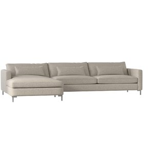 Maxine Sectional by Wayfair Custom Upholstery™ Cool