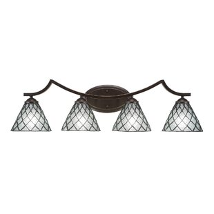 Bargain Cambridge 4-Light Vanity Light By World Menagerie
