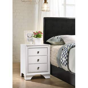 Find a Cleckley 3 Drawer Nightstand by Red Barrel Studio