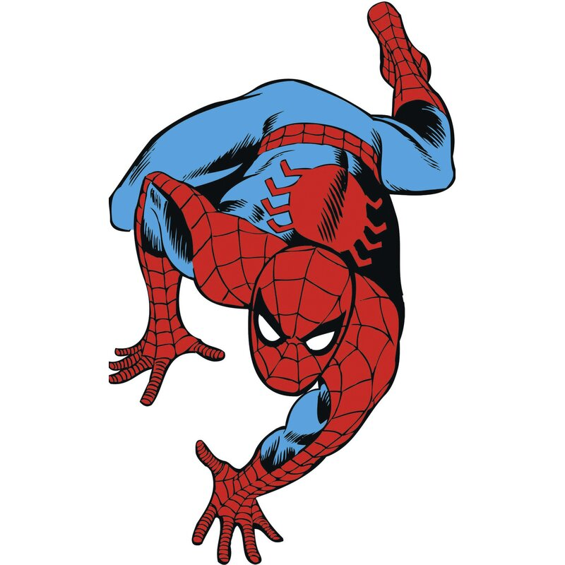 Marvel Comics Spiderman Classic Wall Decal