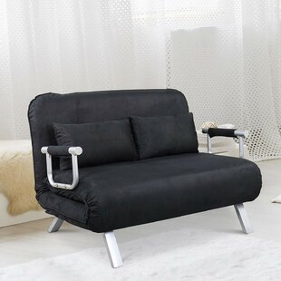 Inexpensive Dunleavy Folding Convertible Sofa by Ebern Designs Reviews (2019) & Buyer's Guide
