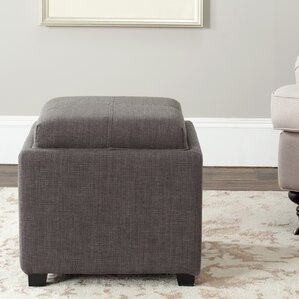 Brandon Single Tray Storage Ottoman