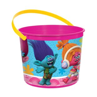 Trolls Paper/Plastic Disposable Favor Container