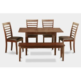 Balfor 6 Piece Extendable Dining Set by Andover Mills 2019 Sale