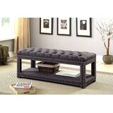 Ewald Upholstered Storage Bench by Darby Home Co