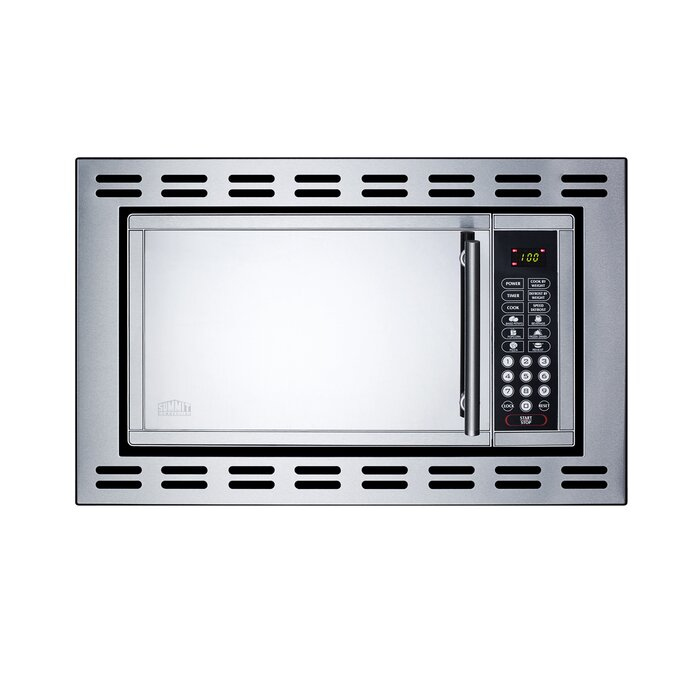 22 0 9 Cu Ft Built In Microwave With 4 38 Inch Trim