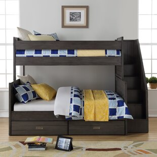 Inexpensive Staggs Twin Over Full Standard Bed with Storage Drawers by Harriet Bee Reviews (2019) & Buyer's Guide