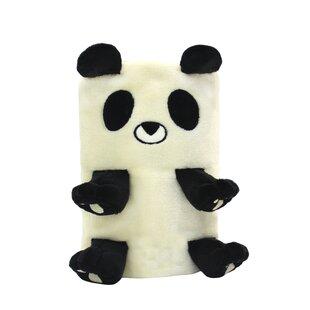 Look for Bogue Panda Bear Fleece Baby Blanket ByHarriet Bee