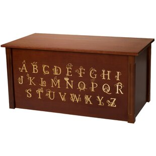 Compare & Buy Dark Cherry Toy Box With Full Alphabet By Dream Toy Box