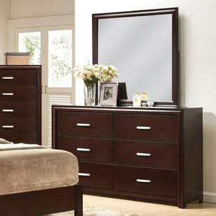 Pelagia 6 Drawer Double Dresser