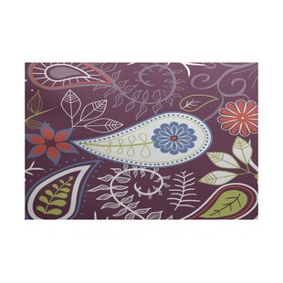 Vinoy Purple Indoor/Outdoor Area Rug