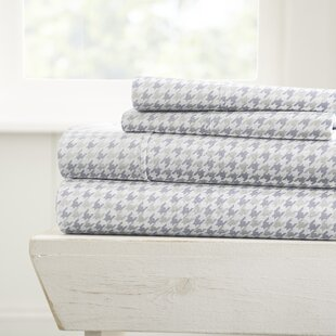 Eilidh Houndstooth Sheet Set