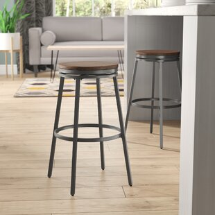 Pierce 25 Swivel Bar Stool Wrought Studio