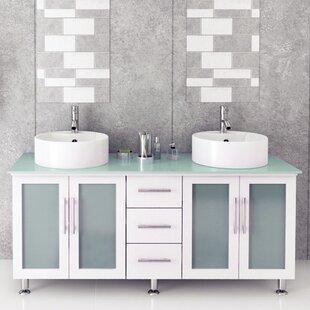 Swearingen 59 Double Vessel Modern Bathroom Vanity Set by Ebern Designs