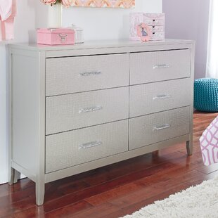 Upham 6 Drawer Double Dresser by Rosdorf Park