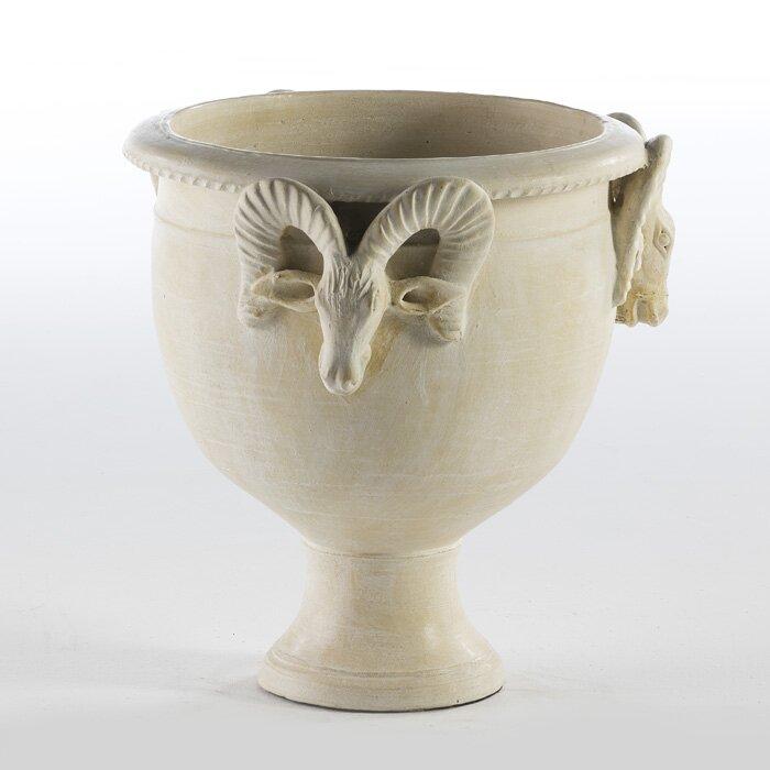 Trace Ceramic Urn Planter