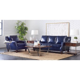 Lemons Leather Configurable Living Room Set by Brayden Studio