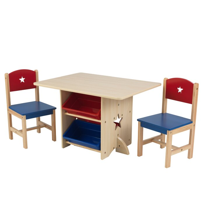 Star Kids 5 Piece Arts And Crafts Table Chair Set
