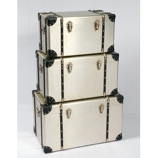 Rieger 3 Piece Trunk Set by Williston Forge