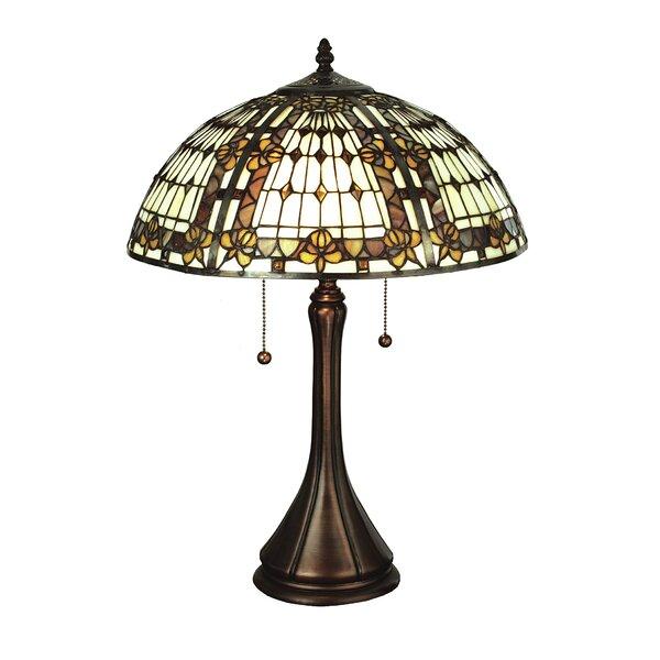 Meyda Tiffany Fleur De Lis Table Lamp Wayfair