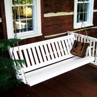 Spengler Traditional English Porch Swing by Red Barrel Studio
