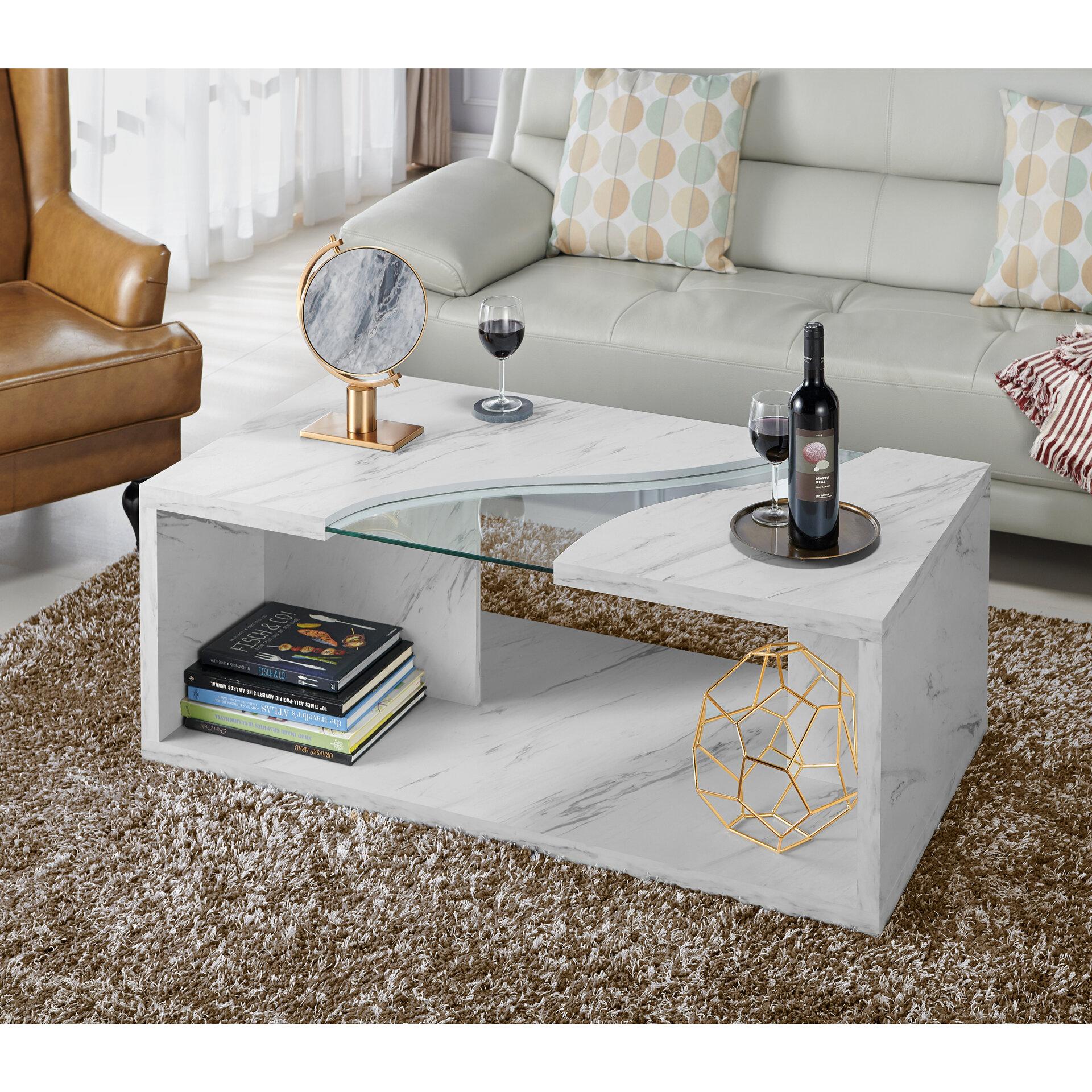Hahn Floor Shelf Coffee Table