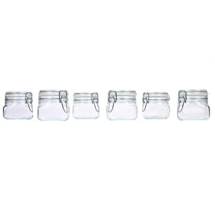 Hermetic Storage Jar Set (Set of 6)