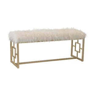 Scarlette Retro Upholstered Double Bench