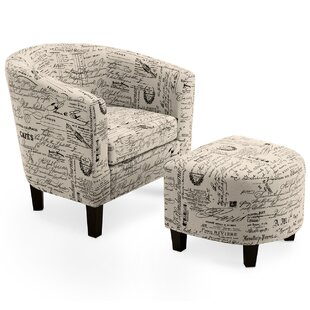 Fitzwater Barrel Chair by Winston Porter #1